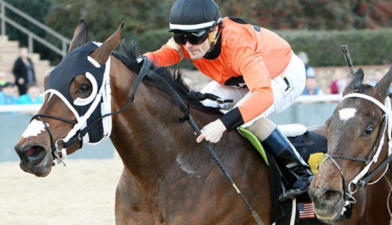 COWBOY CAL's MARQUEE MISS Wins Oaklawn's Dixie Belle S.