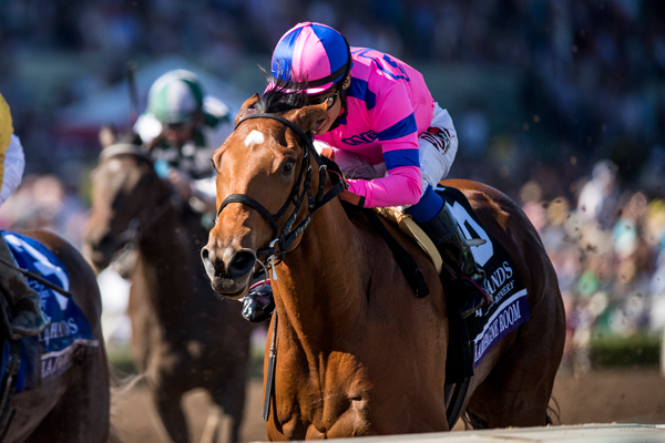 CHAMPAGNE ROOM Named Eclipse Champion 2YO Filly