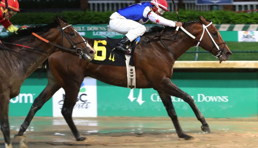 LIMATION Takes Maiden Special Weight on Derby Undercard