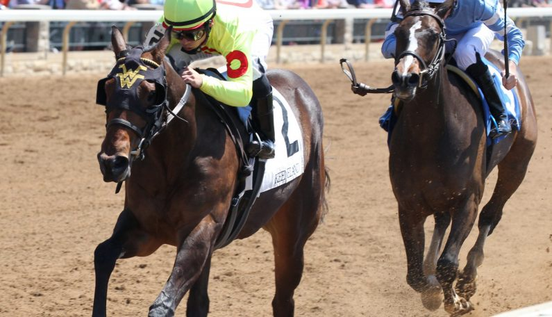 2YO DRAGIC Wins Maiden Special Weight Debut at Keeneland